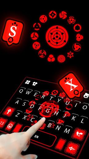 Sharingan Signs Keyboard Hintergrund-Screenshots 3