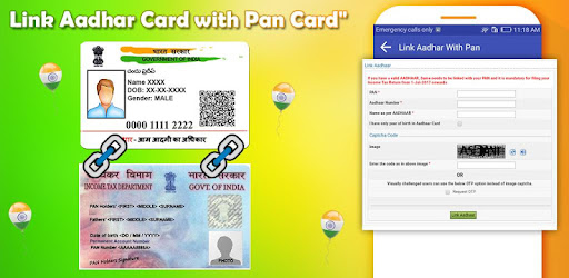 Link Aadhar With PAN Apps (apk) free download for Android/PC/Windows screenshot