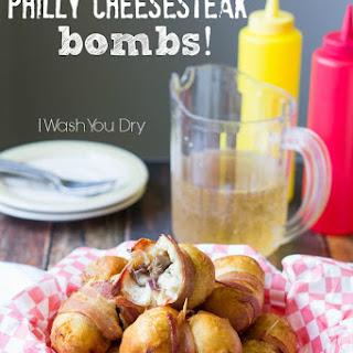 Philly Cheesesteak Bombs