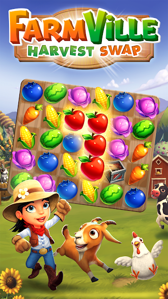 FarmVille: Harvest Swap v1.0.3422 (Mod)