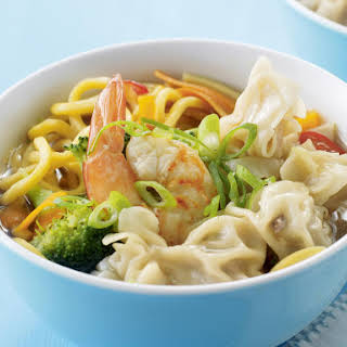 Wonton and Noodle Soup.