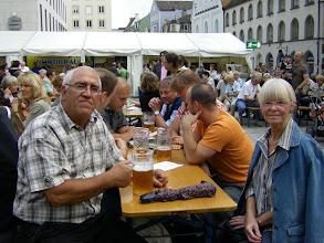 Photo: Franz und Gaby mittendrin... www.bayernfranz.de