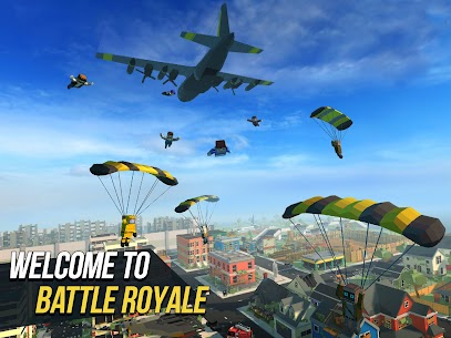 Grand Battle Royale: Pixel FPS MOD (Unlimited Gold Coins/Keys) 1
