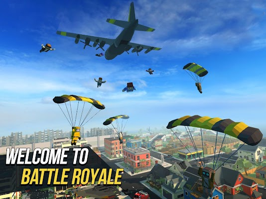 Grand Battle Royale: Pixel War Screenshot Image