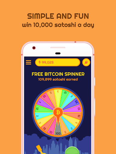 Free Bitcoin Spinner 1.6 screenshots 1