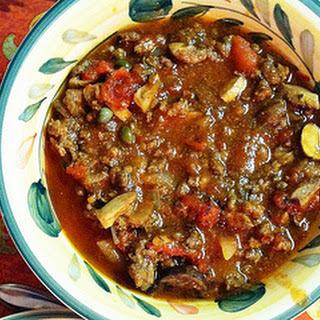 Italian Crock Pot Chili.