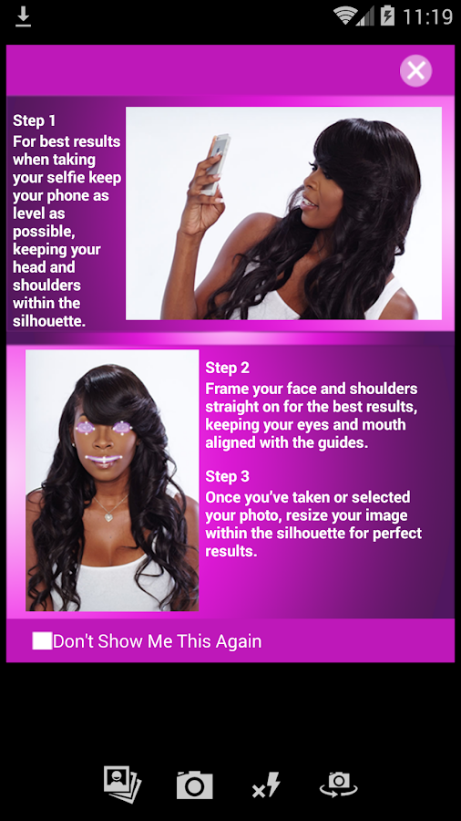 Prime Iweave Virtual Hair Styler App Android Apps On Google Play Short Hairstyles Gunalazisus