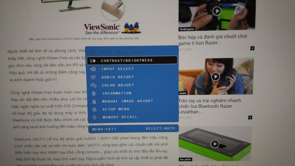 ViewSonic VX2771