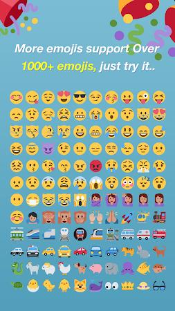 Emoji Keyboard - Color Emoji 2.4 screenshot 551558