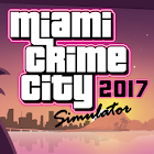Miami Crime City Simulator icon
