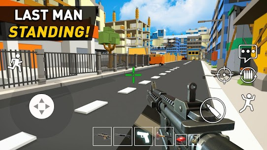 Pixel Danger Zone: Battle Royale Mod Apk Download For Android and Iphone 5