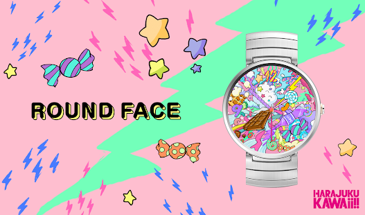 HARAJUKU KAWAii!! WATCHFACE- screenshot thumbnail