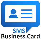 SMS Business Card - send to client after call