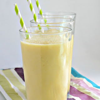 Clean and Healthy Tropical Smoothie