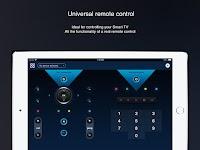 screenshot of Universal remote control for smart TVs