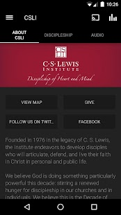C.S. Lewis Institute- screenshot thumbnail