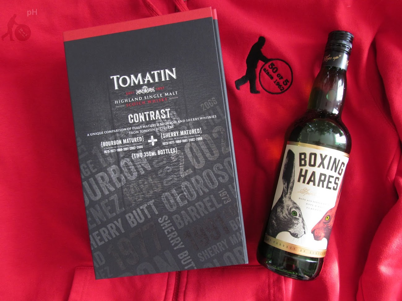 Tomatin Contrast & Boxing Hares