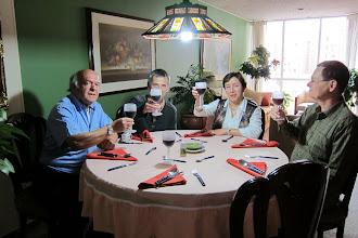 Photo: Alonso, Julio M, Sandra, Torben