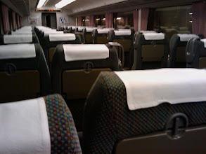 Photo: Tren JR: Shinano - Desde Kyoto (18:50) a Osaka (19:18)