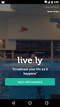live.ly - live video streaming - screenshot thumbnail 01