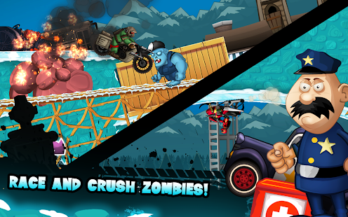 Zombie Shooter Motorcycle Race 21