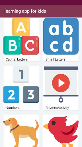 Learning English Basics School & Phonics for kids 3.2.1 screenshots 1
