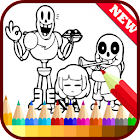 Drawing app for Undertale Sans icon