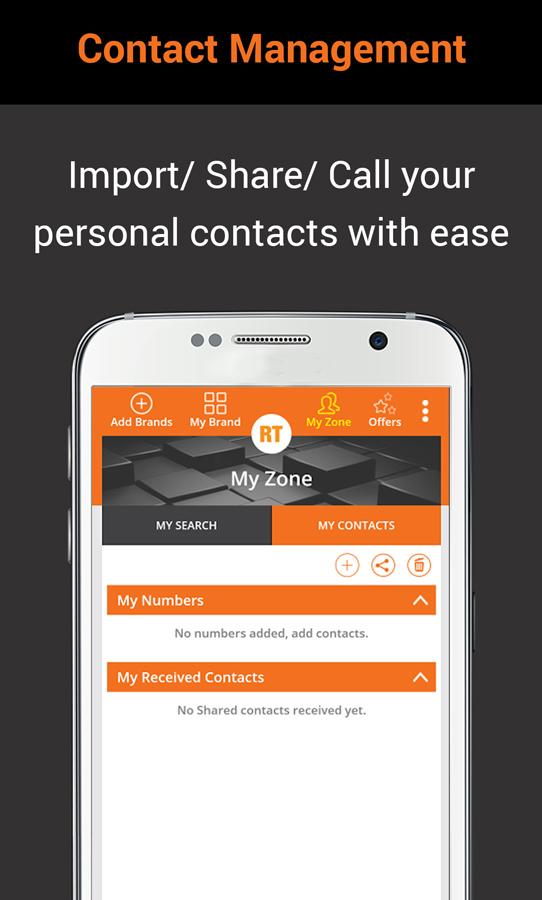 Customer Care App: RightTap- screenshot