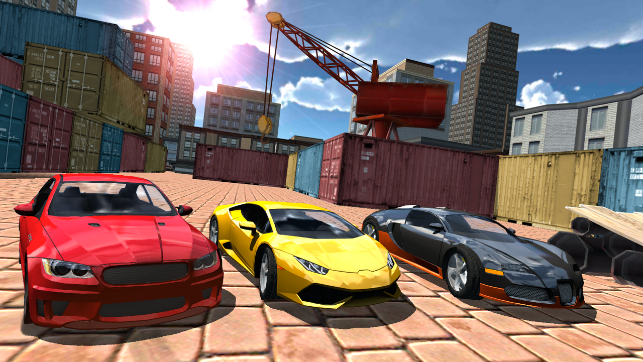 Super car city driving sim free games free online - Multiplayer Driving Simulator Screenshot