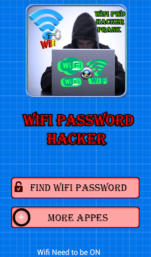 wifi Password hacker prank apk screenshot 2