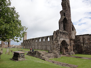 Photo: Remnants of St Anrews Cathedral