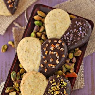 Pistachio Shortbread Cookies.