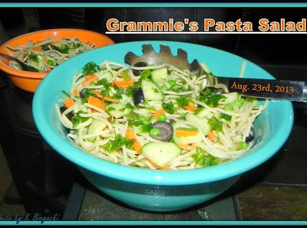 Grammie's Pasta Salad Recipe