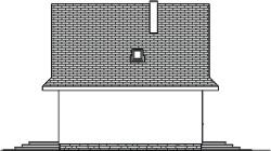 Domek Matuszny - Elewacja lewa