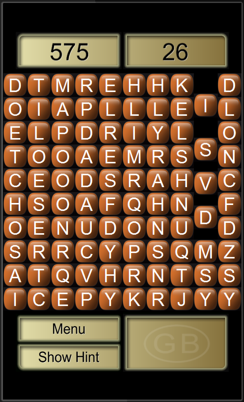 Word Search Revolution Free- screenshot