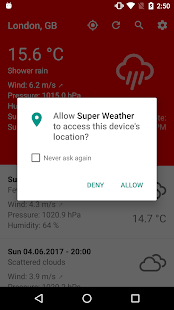 Super Weather- screenshot thumbnail