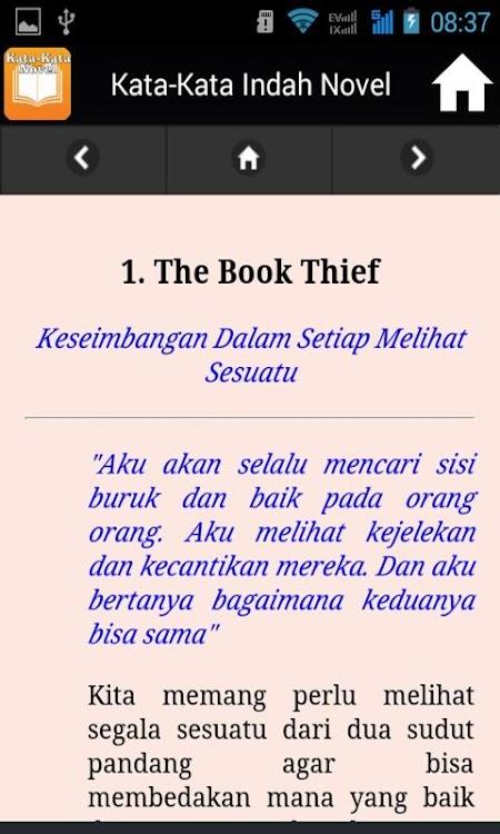 Kata Kata Indah Novel Android تطبيقات Appagg