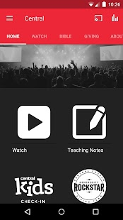 Central Church App- screenshot thumbnail