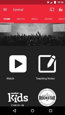 Central Church App - screenshot