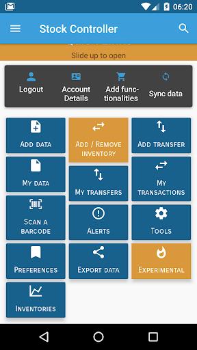 Stock Controller - inventories  screenshots 2