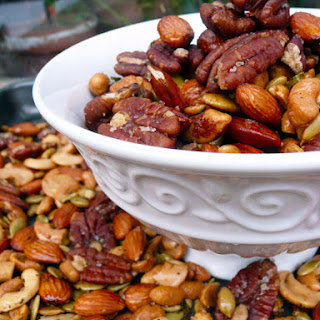 Italian Rosemary Garlic Spiced Nuts