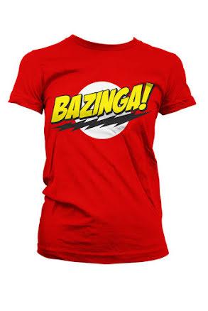 T-shirt dam, Bazinga! M