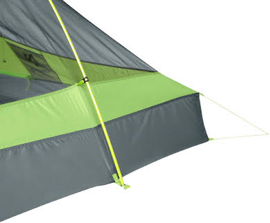 NEMO Hornet 2P Shelter, Green/Gray, 2-person alternate image 1