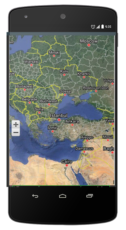 "Earth View ""Live Maps""- screenshot"