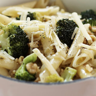 Anchovy, Broccoli and Walnut Penne.