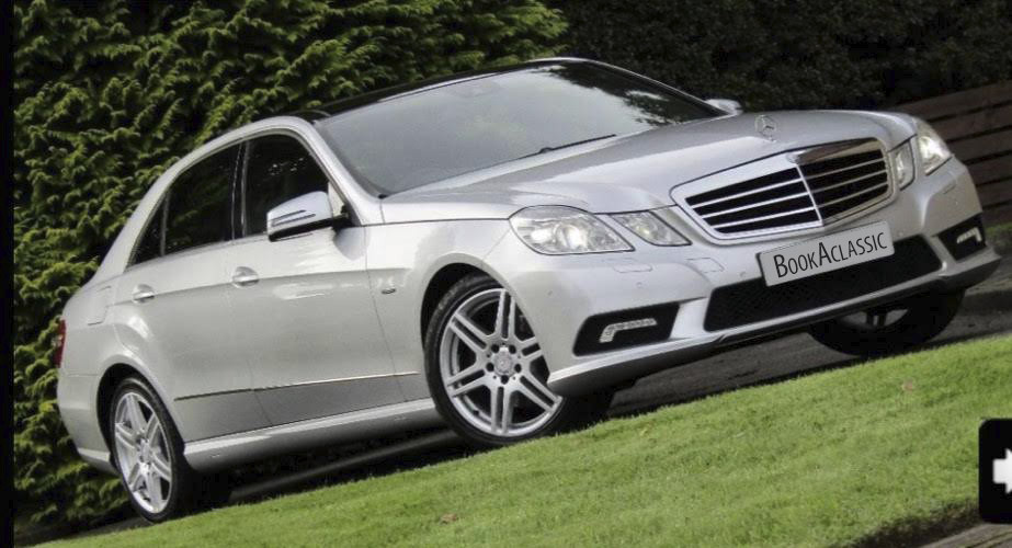 Mercedes-Benz E Class Hire Glasgow