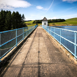 Winterhope Reservoir by James Johnstone - Buildings & Architecture Bridges & Suspended Structures ( blue )