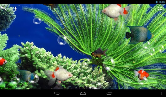 Aquarium 3D Live Wallpaper Screenshot