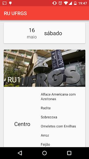 RU UFRGS Menu