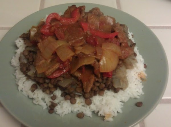 Lentils And Carne Recipe